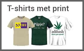 T-shirts met prints