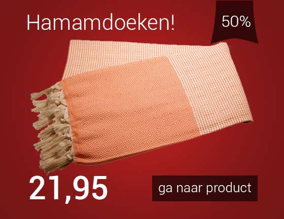 Arowell diamond stripe hamamdoek