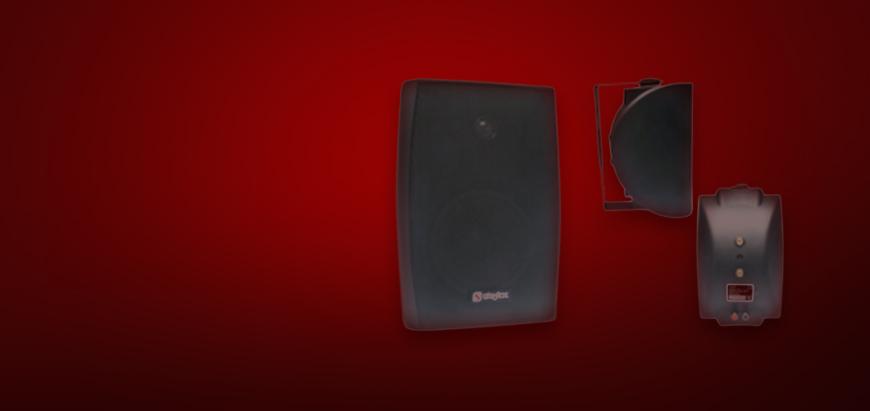 Speakers set slider afbeelding